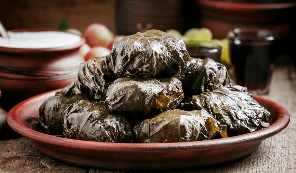 yaprak sarma, türk yemekleri