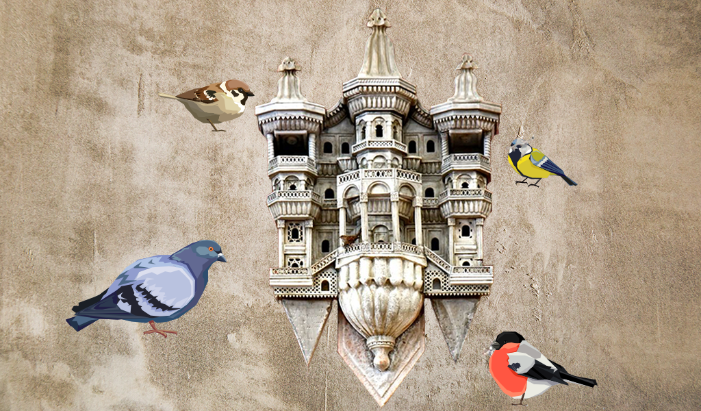 kuş sarayları