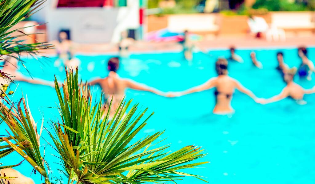 tatil, havuz etkinlikleri