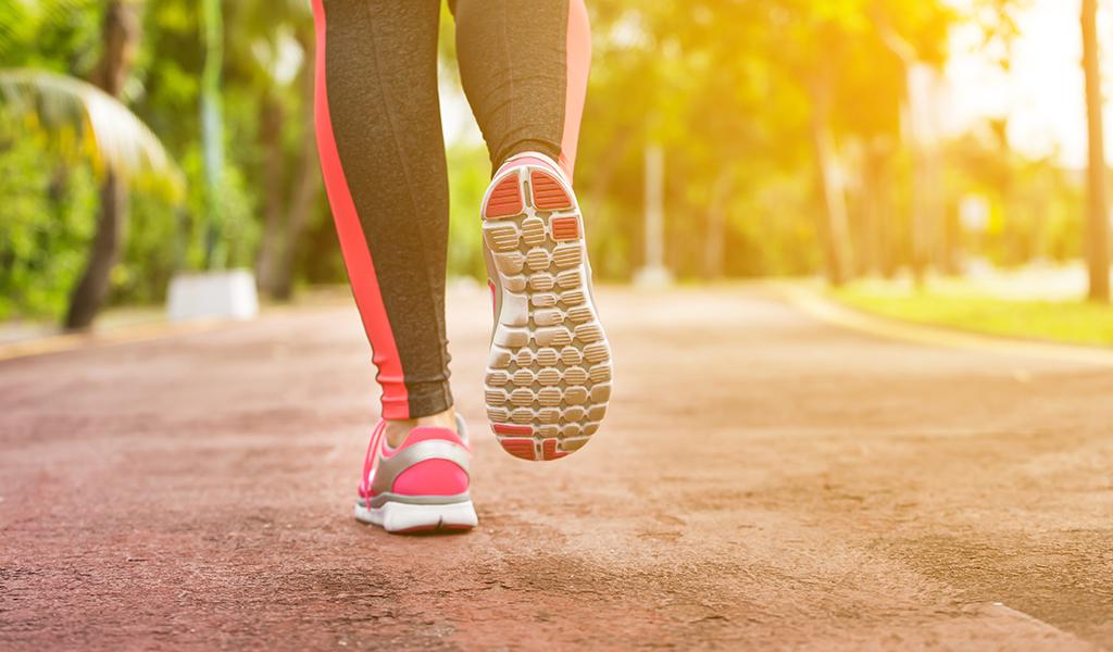 running, walking, sosyal aktivite