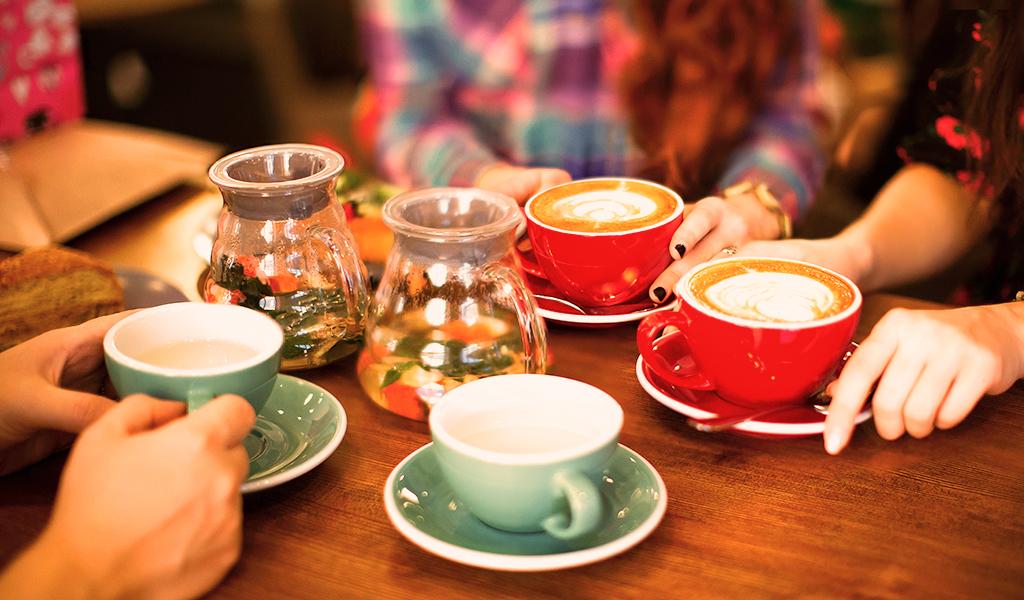 coffe, sosyal aktivite