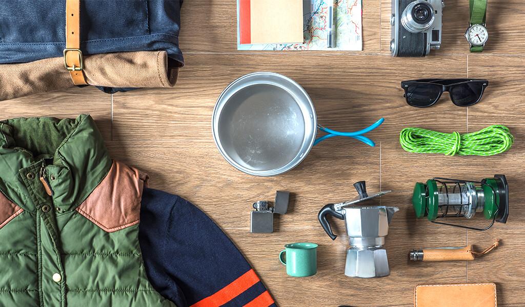 çadır kampı, doğal hayat