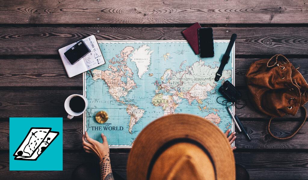 haritaya bakan adam, map, traveller