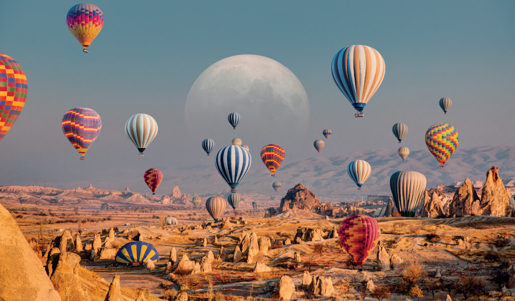 baloni ürgüp, nevşehir