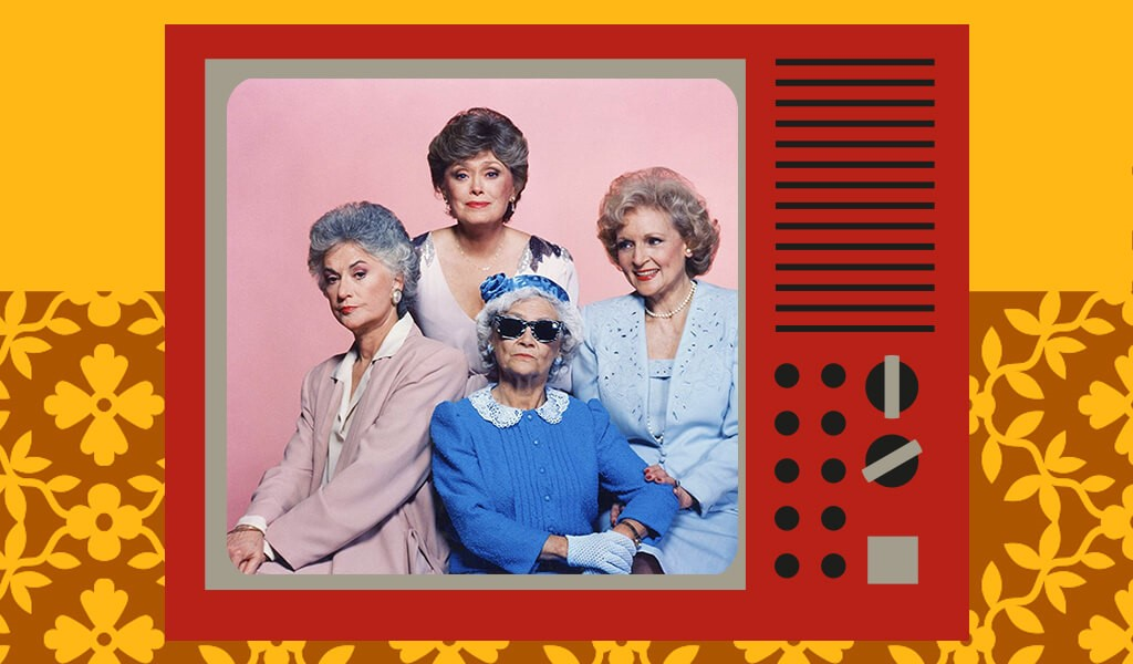 eski diziler, the golden girls