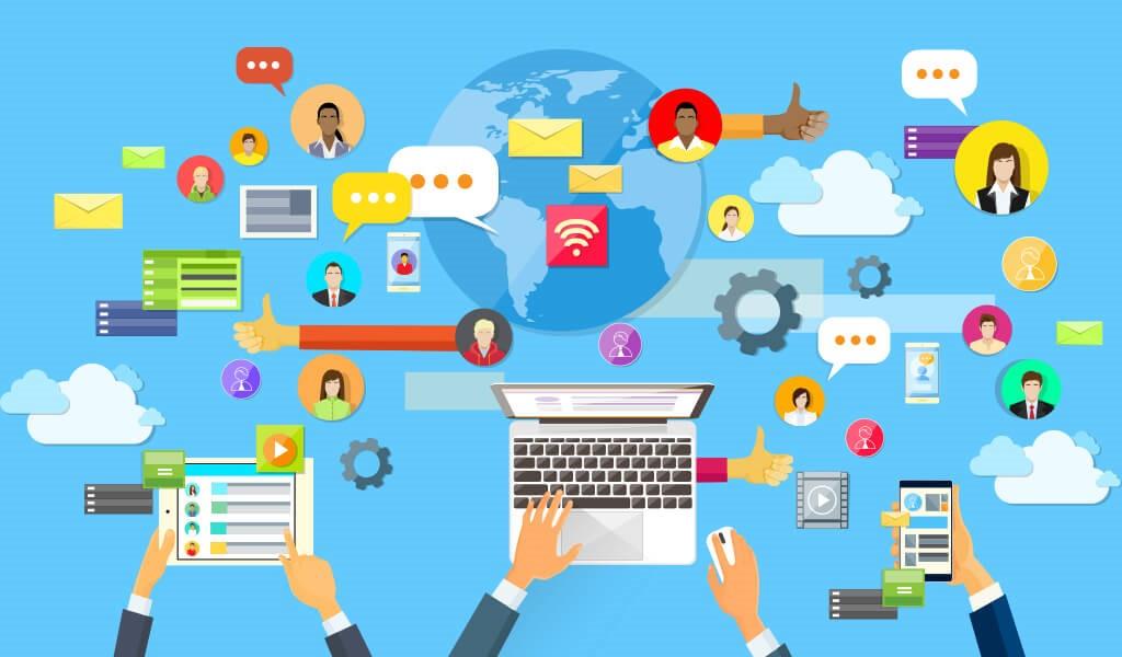 tablet, akıllı telefon, laptop, iletişim