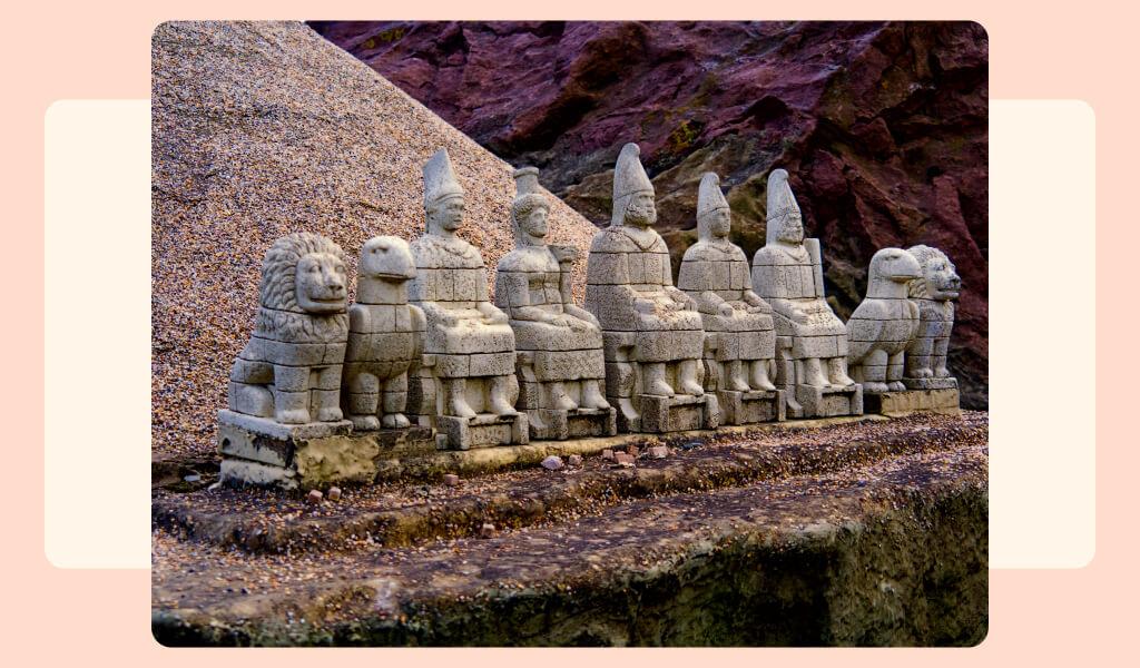 fırat vadisi, nemrut dağı, nemrut heykelleri