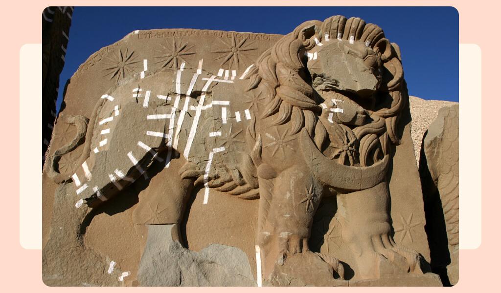 fırat vadisi, nemrut dağı, nemrut heykelleri, tümülüs