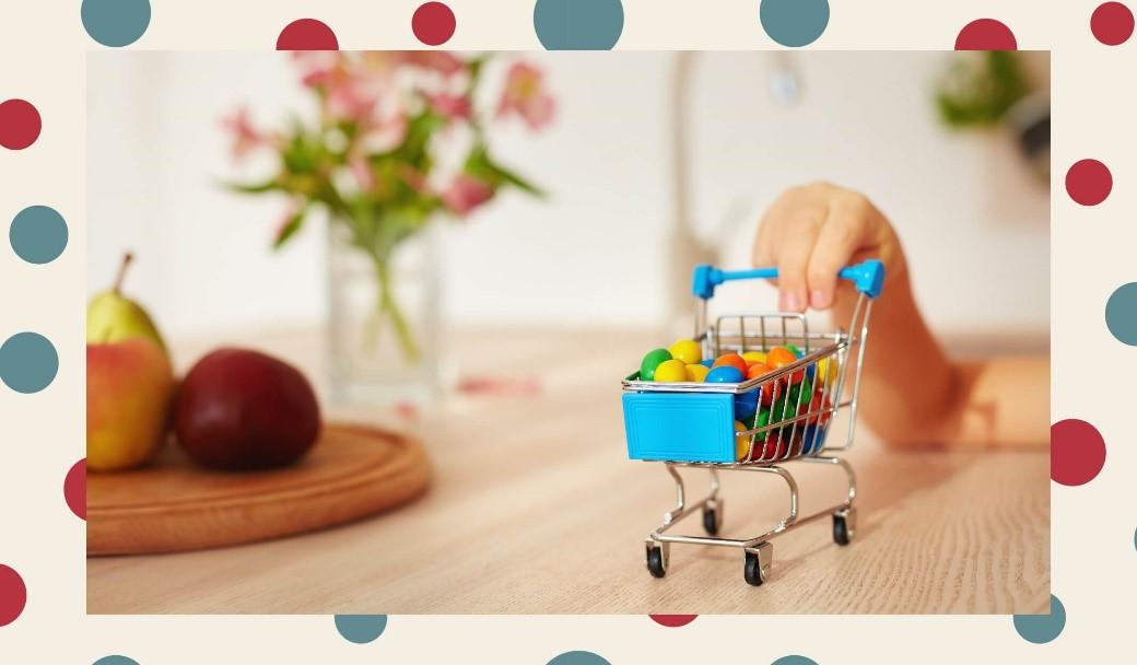 küçük alışveriş arabası