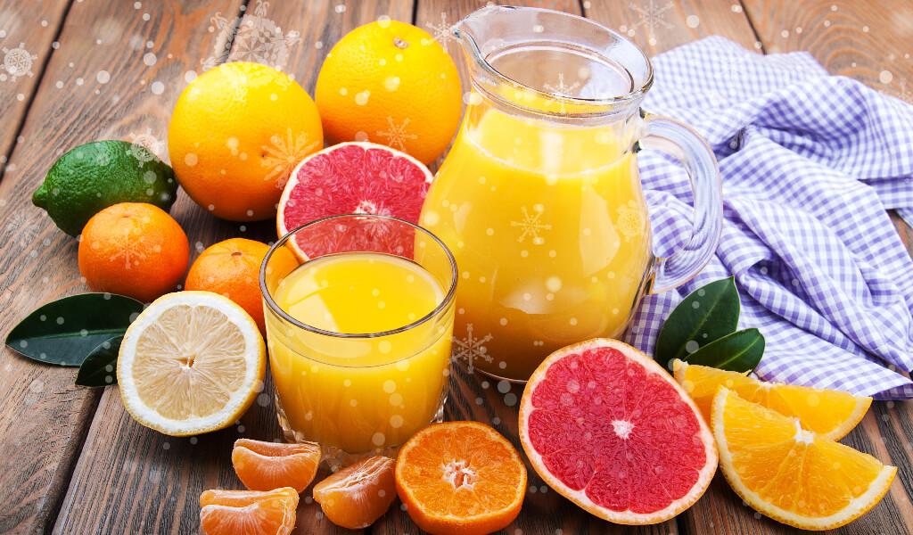 narenciye, meyve suları