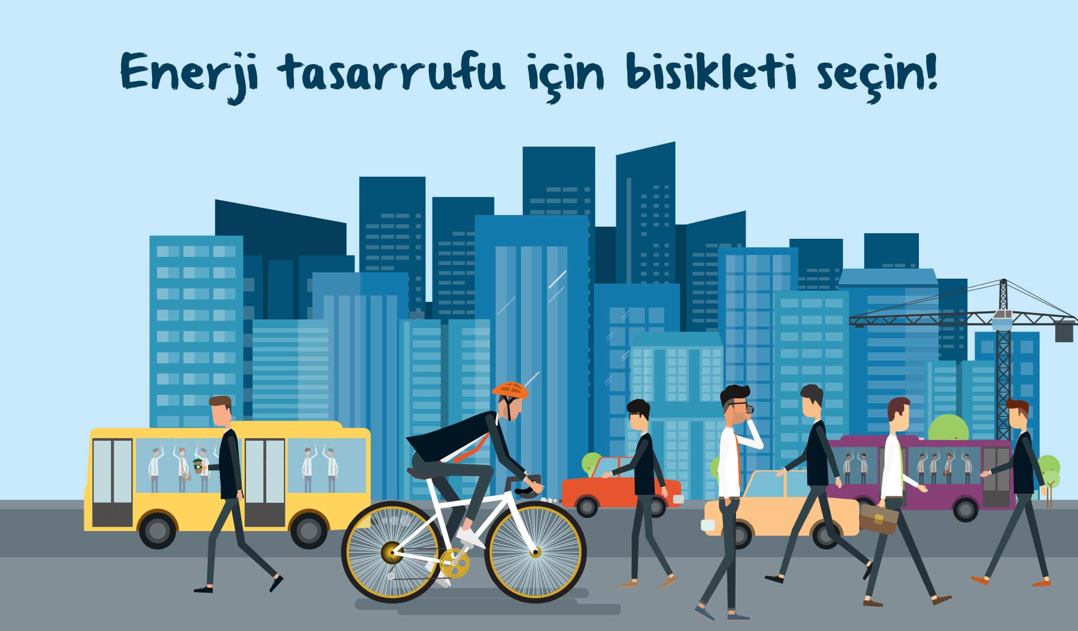 bisikletli yaşam