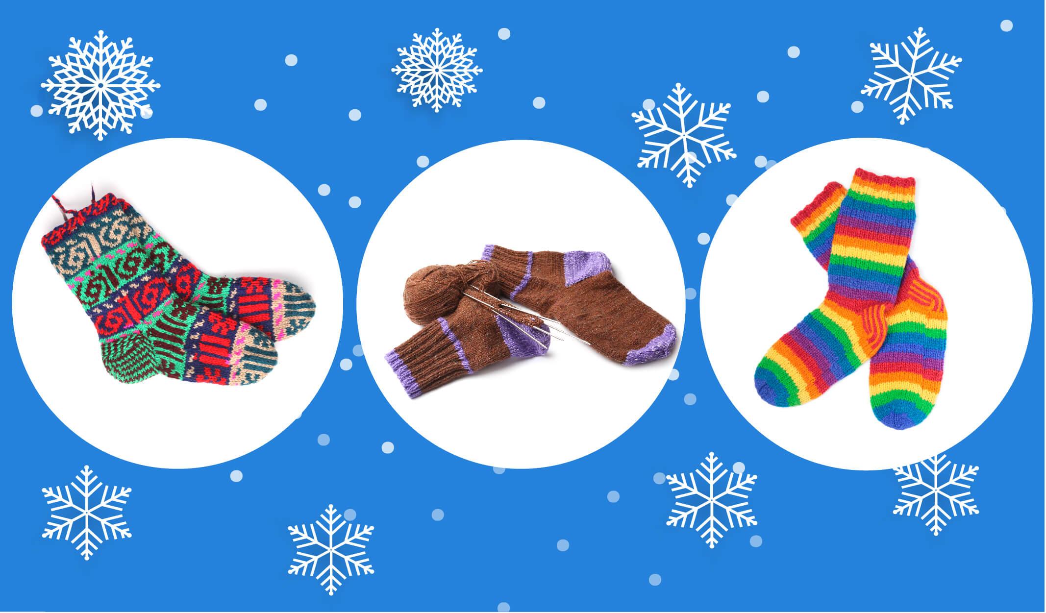 kış aksesuarları, örgü, yün çorap