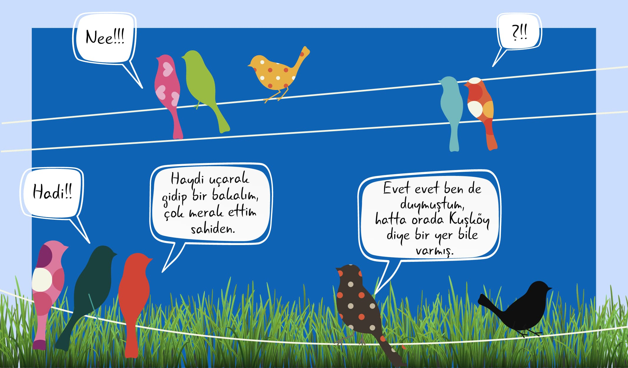kuş dili konuşması