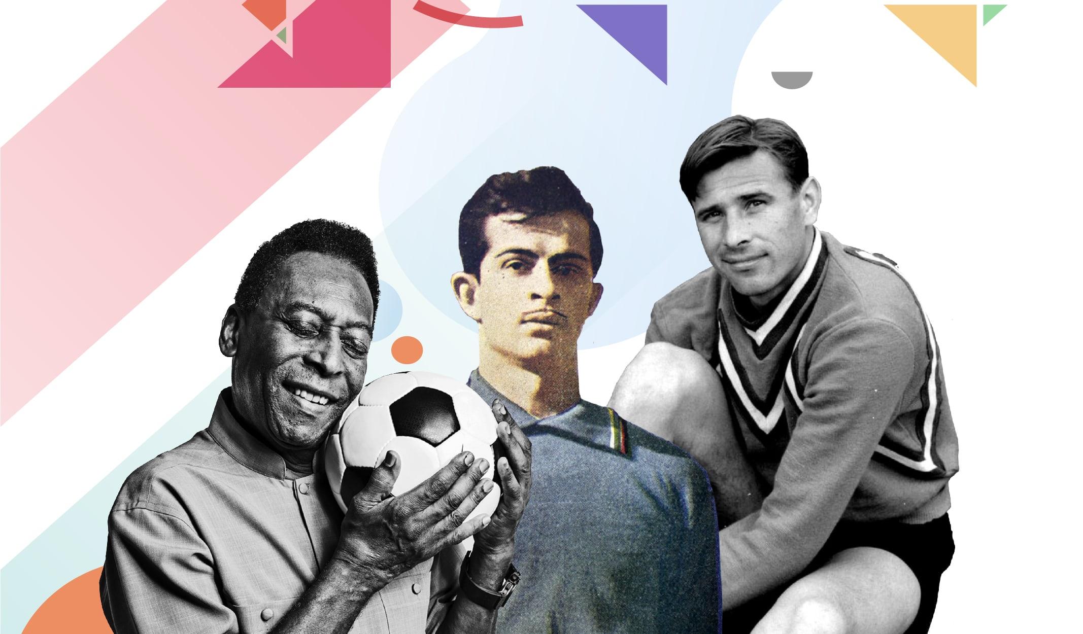 dünya kupası, efsane futbolcular