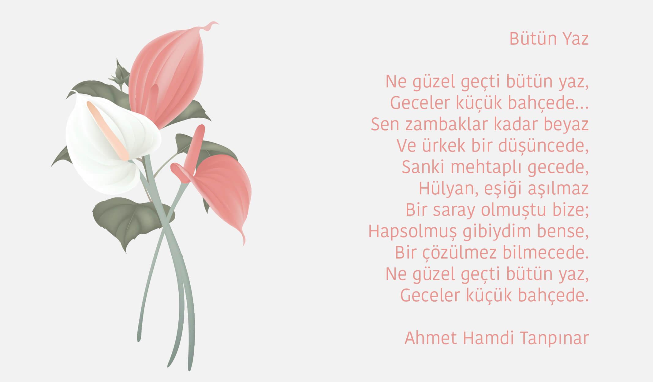 yaz şiirleri