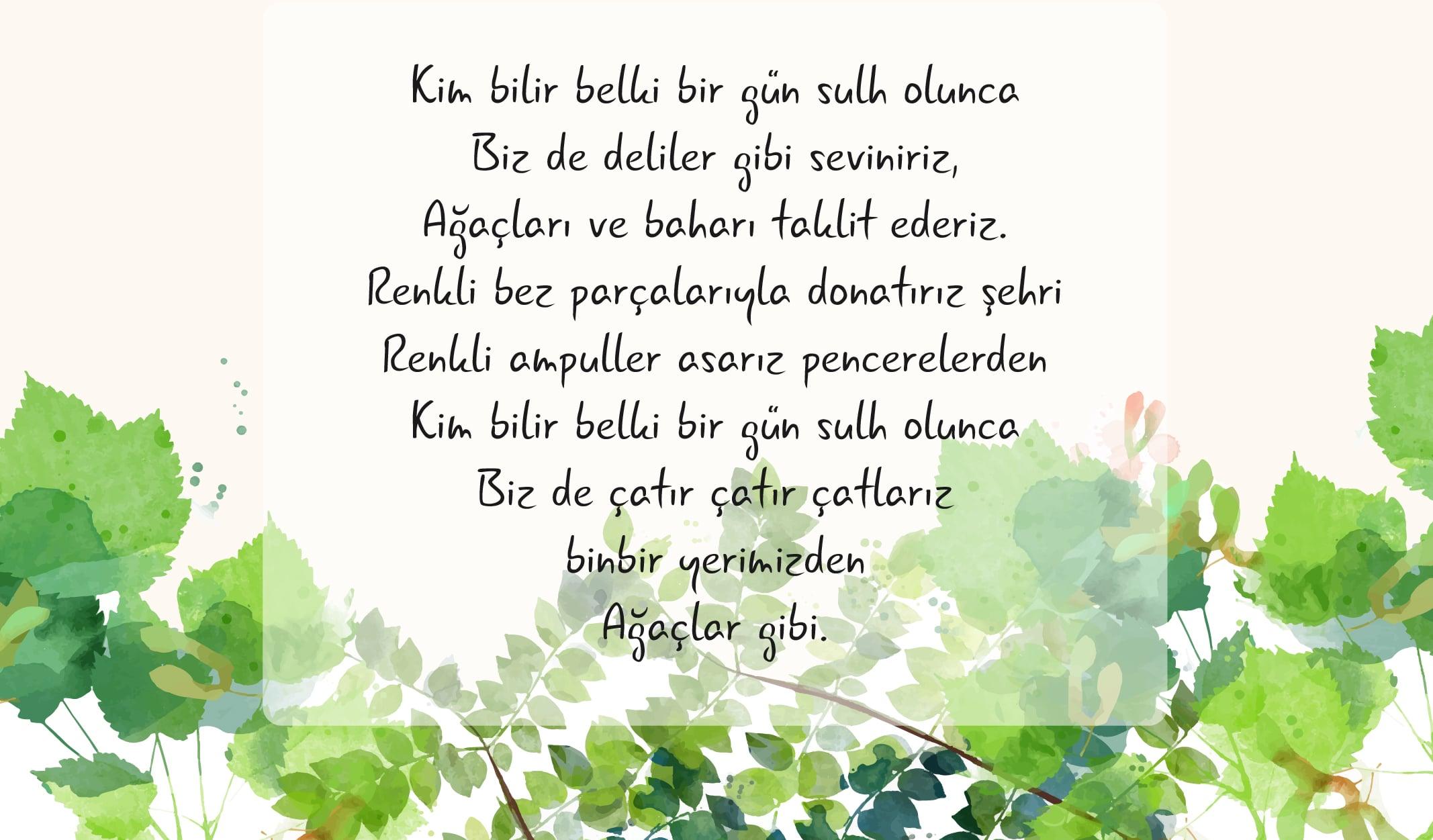 bahar şiirleri