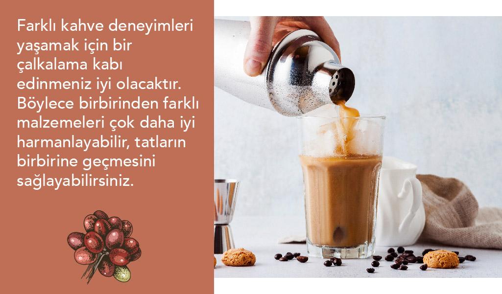 evde kahve yapımı